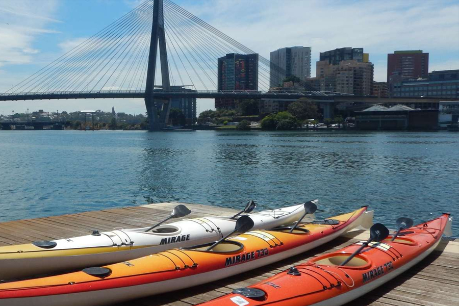 Kayak to Goat Island