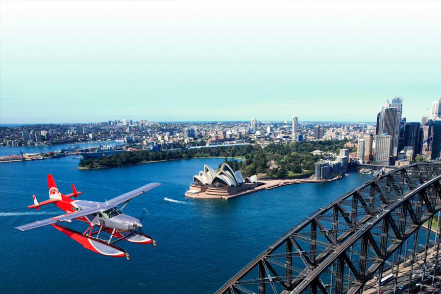 Seaplane Helicopter tour
