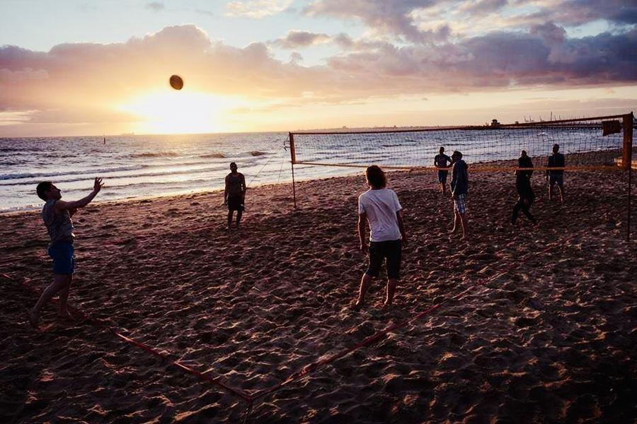 Volleyball St Kilda Beach