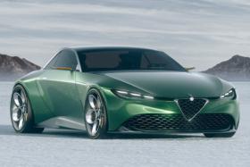 Alfa Romeo Junior Zagato side view