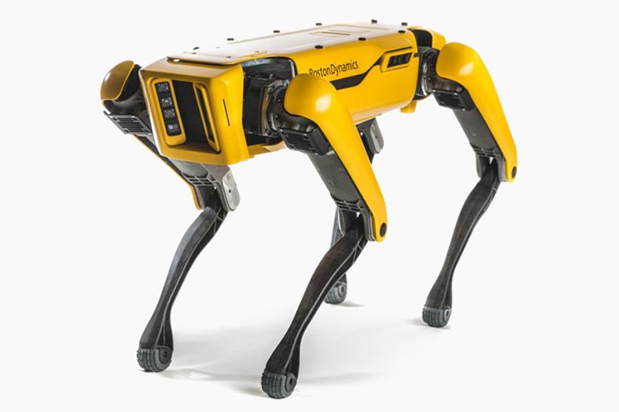 boston dynamic robot dog side view