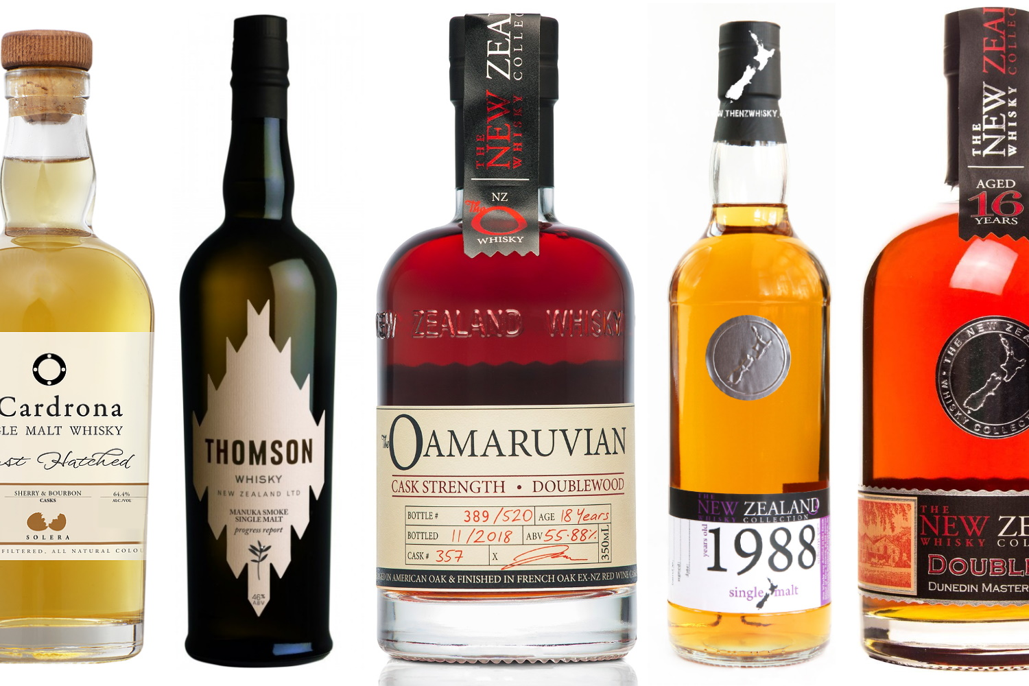 Best New Zealand Whiskies