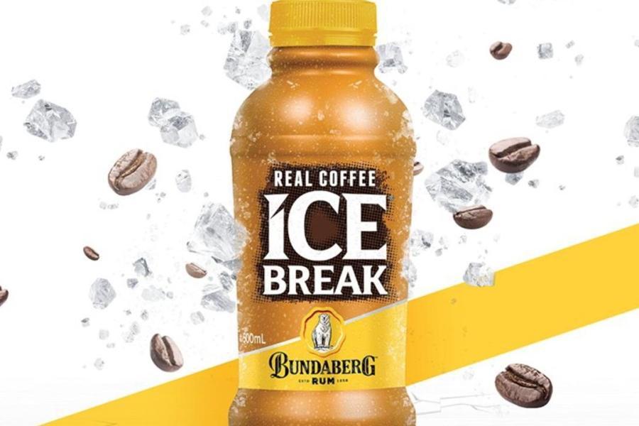 Bottle ofBundaberg Rum Iced Coffee