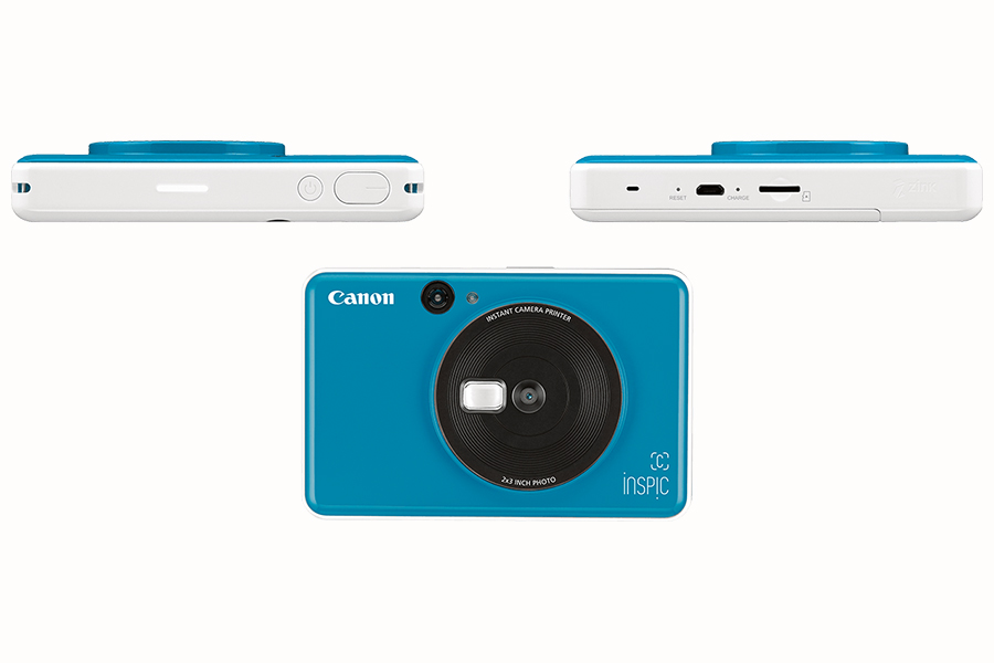 Canon iNSP!C S and iNSP!C C blue camera