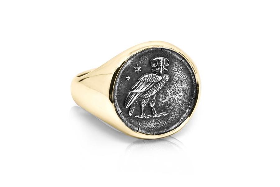 mens gold ring