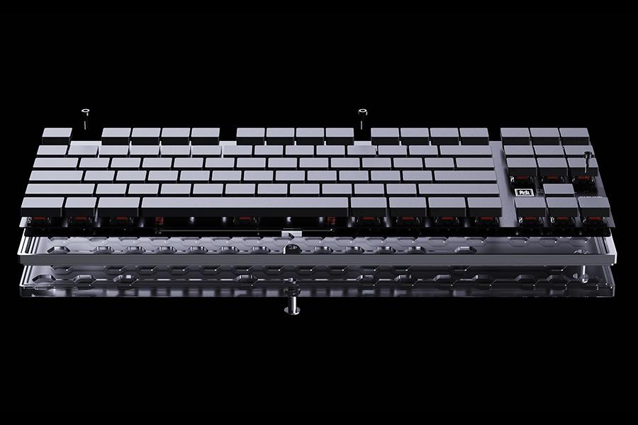 Ghost Keyboard inside look on parts