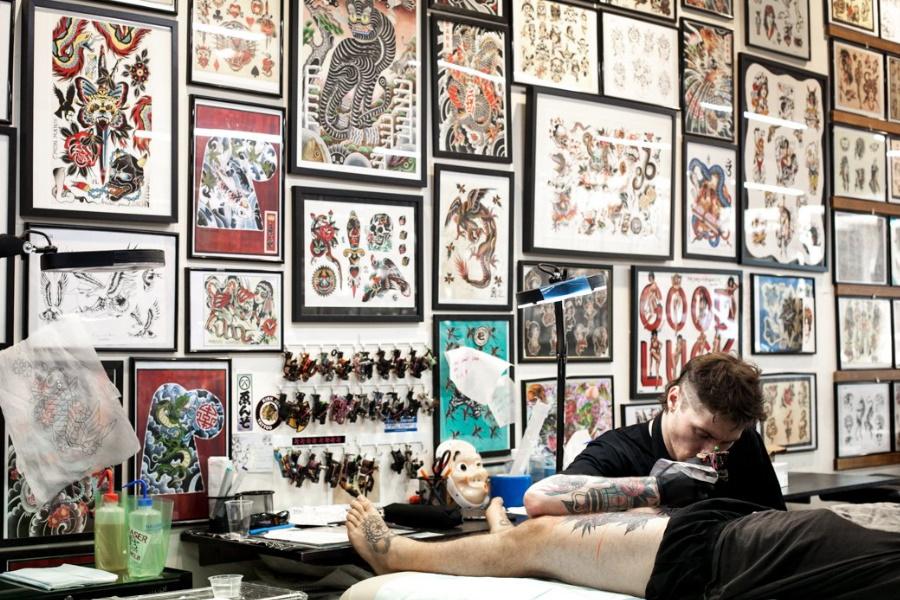 good luck tattoo melbourne