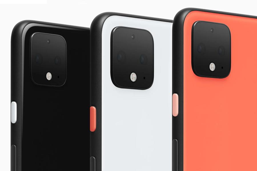 3 Google Pixel 4s back view