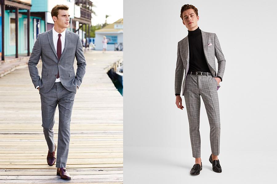 Grey Suit 15&16