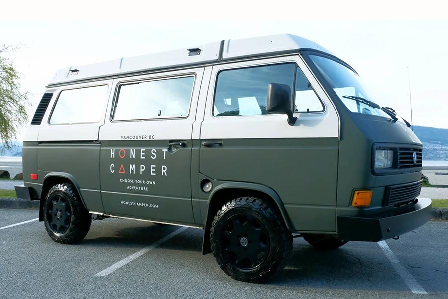 Honest Camper vehicle
