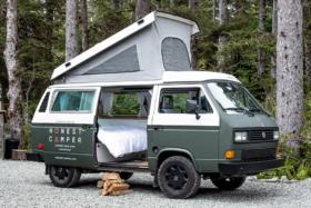 Honest Camper door open