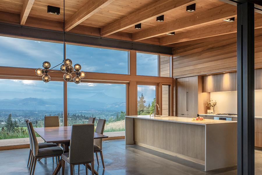 Hood River Residence dining
