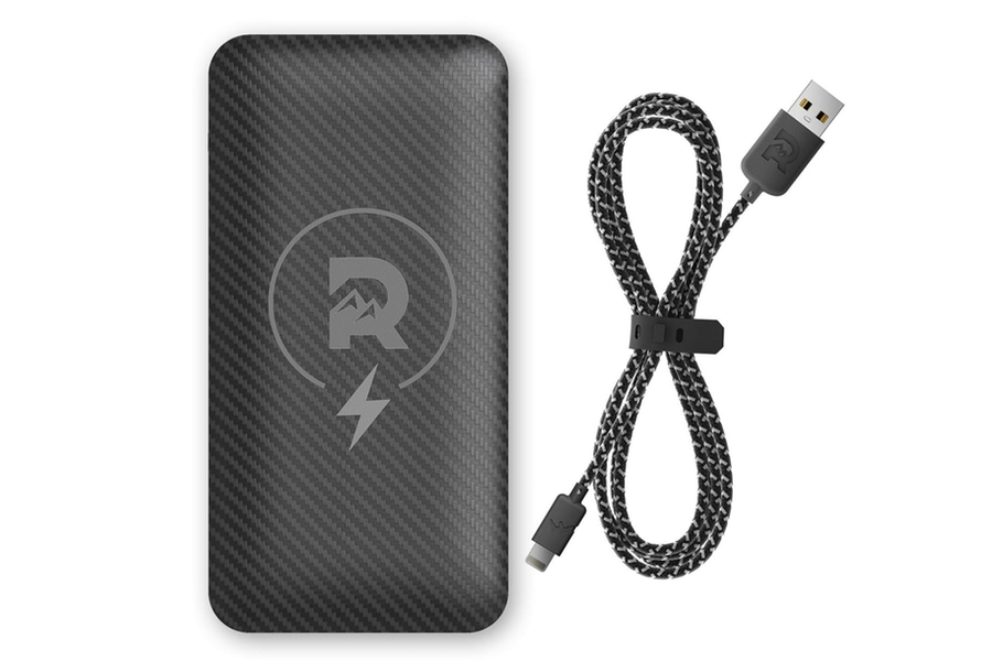 The Ridge Wireless Power Bank + Lightning Charging Cable