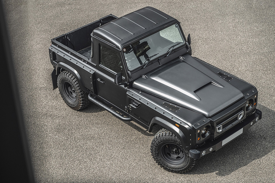 Land Rover Defender top view