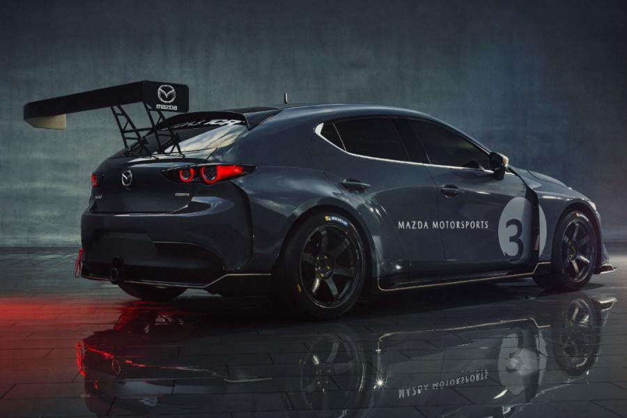 racing hatchback side view
