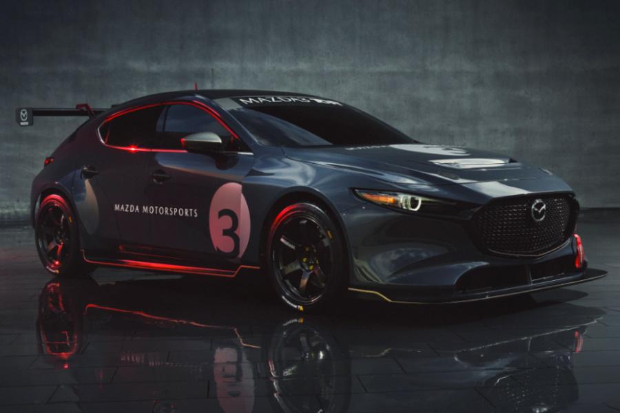 mazda3 race car