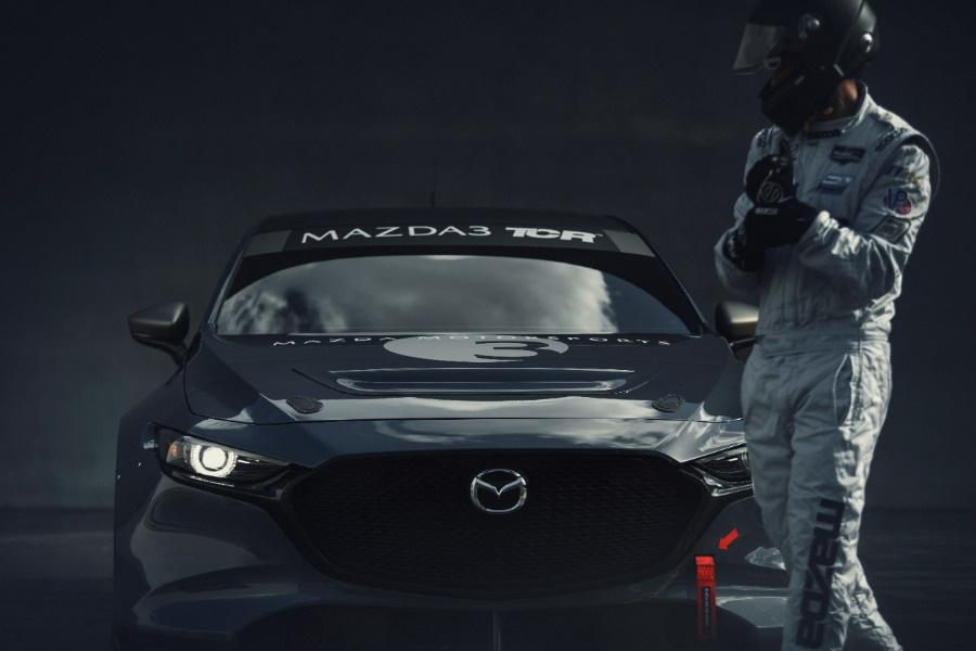 2020 mazda3 race car