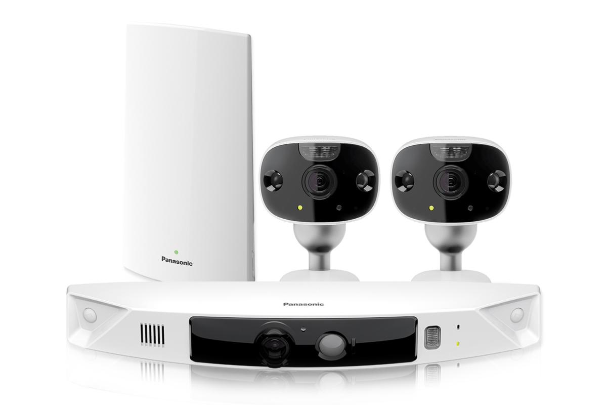 Panasonic HomeHawk Security System