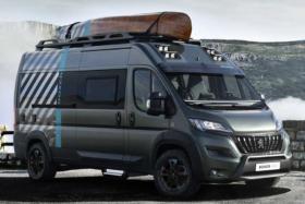 Peugeot 4x4 camper van