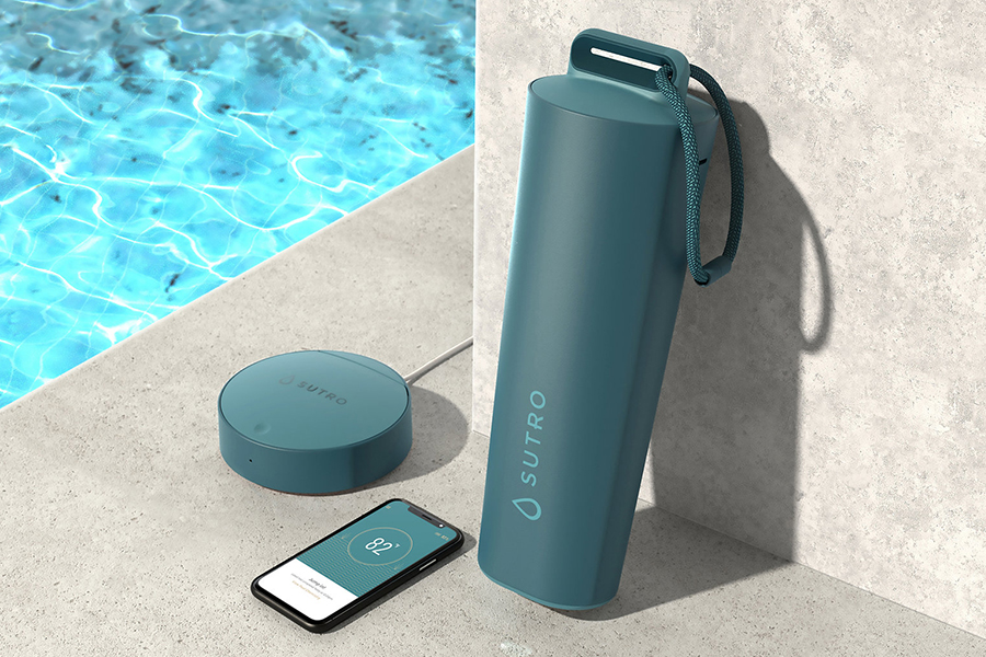 Sutro Pool monitor set