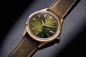 The 5th brown swiss watch
