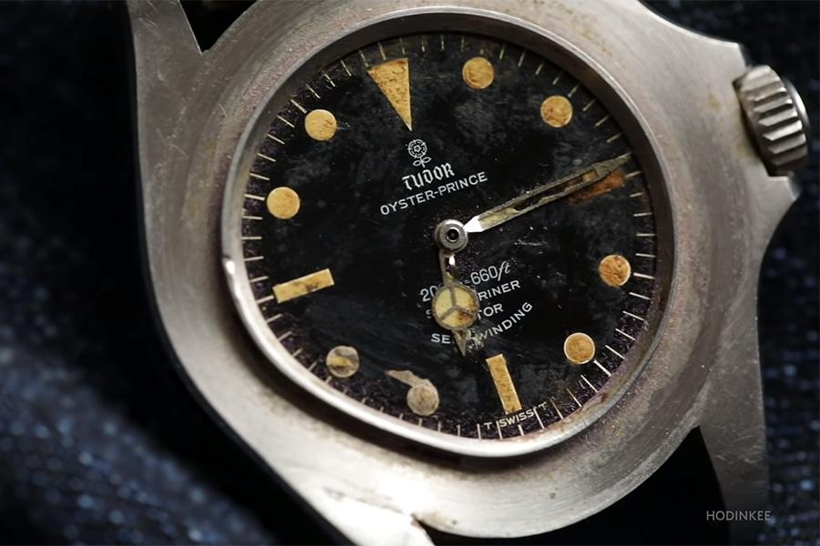 Tudor Watch took a bullet in vietnam
