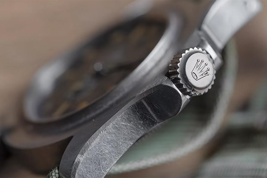 Tudor Watch side view