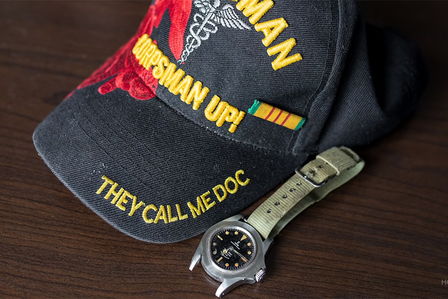 Tudor Watch with military watch