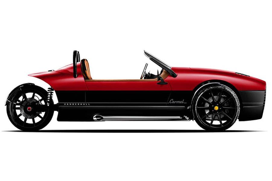 Vanderhall Carmel Three Wheeler Adds Luxury for 2020