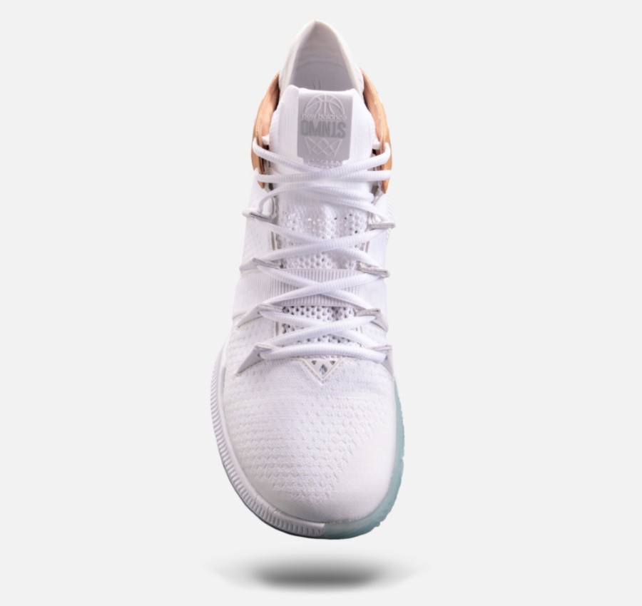 white NBA player shoes