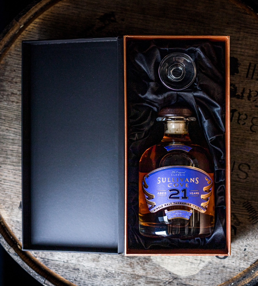 aged single malt whisky