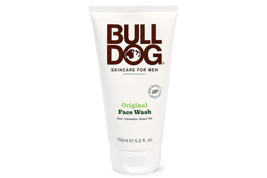 Bulldog face wash for men