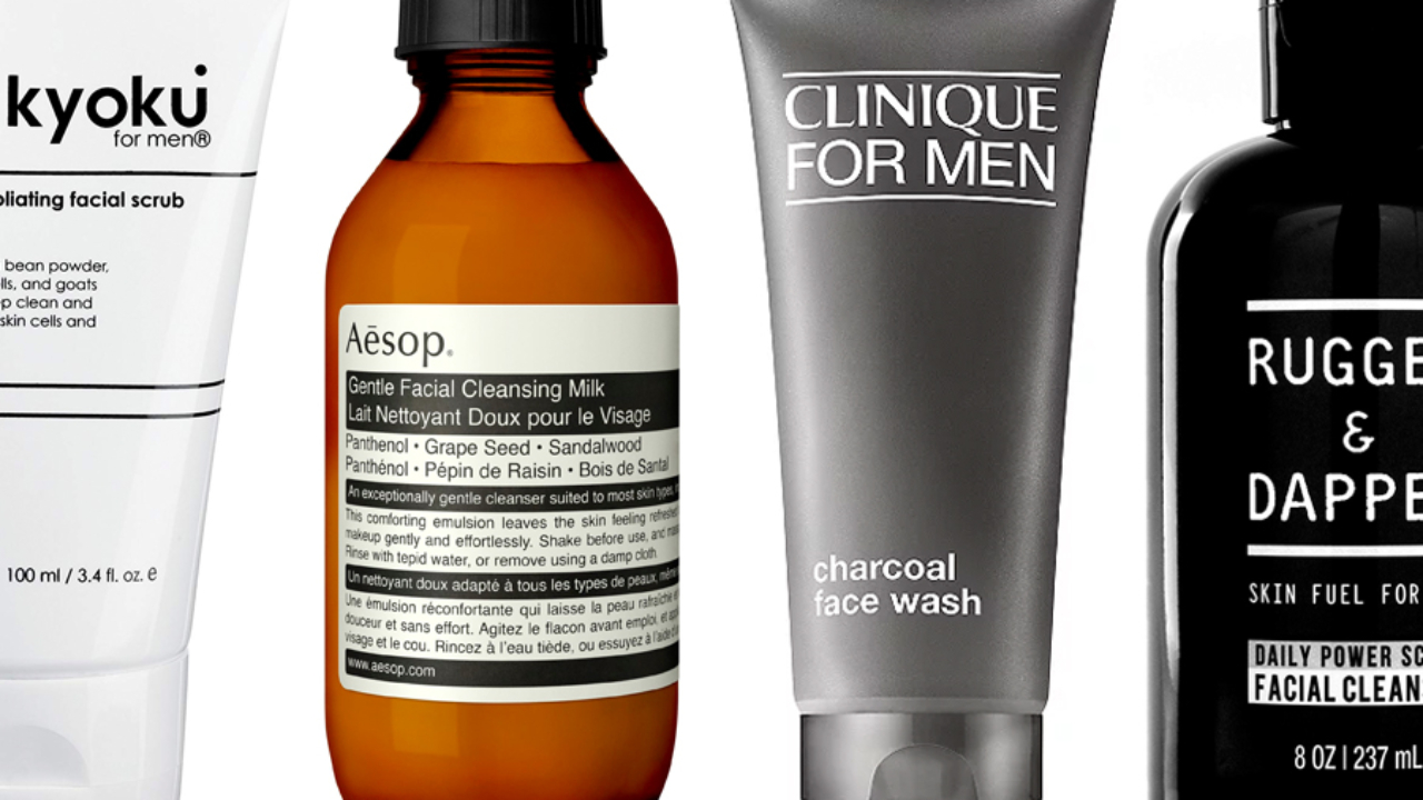 14 Best Face Washes For Men Man Of Many