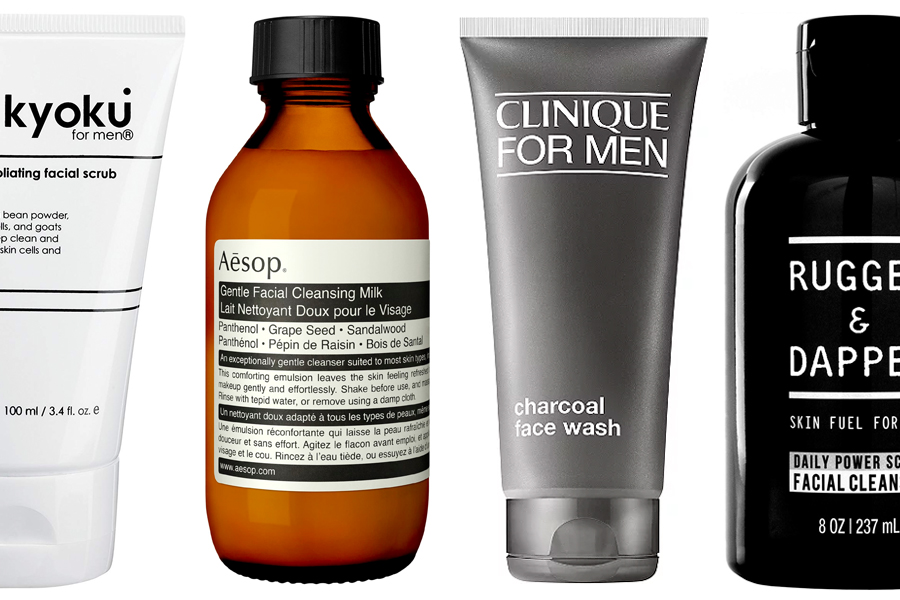 14 Best Face Washes for Men – Feature