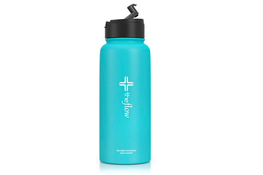 The Flow Stainless Steel Water bottle Double Walled Vacuum Insulated