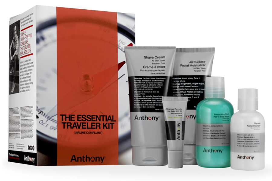 Anthony Essential Traveller kit