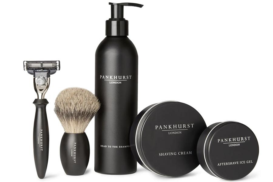 Pankhurst London shaving Set