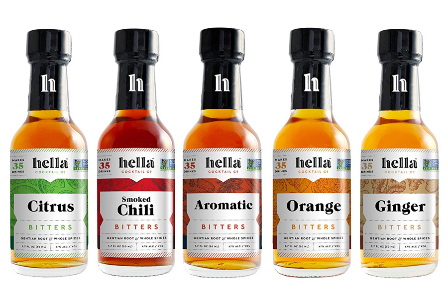 Hella Bitters Cocktail bitters set