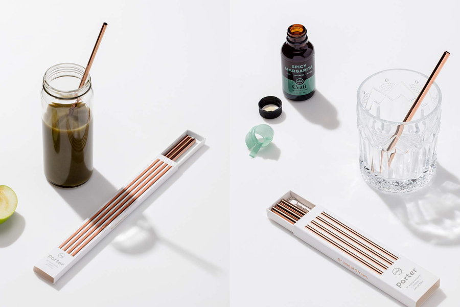 W&P Reuseable Straws