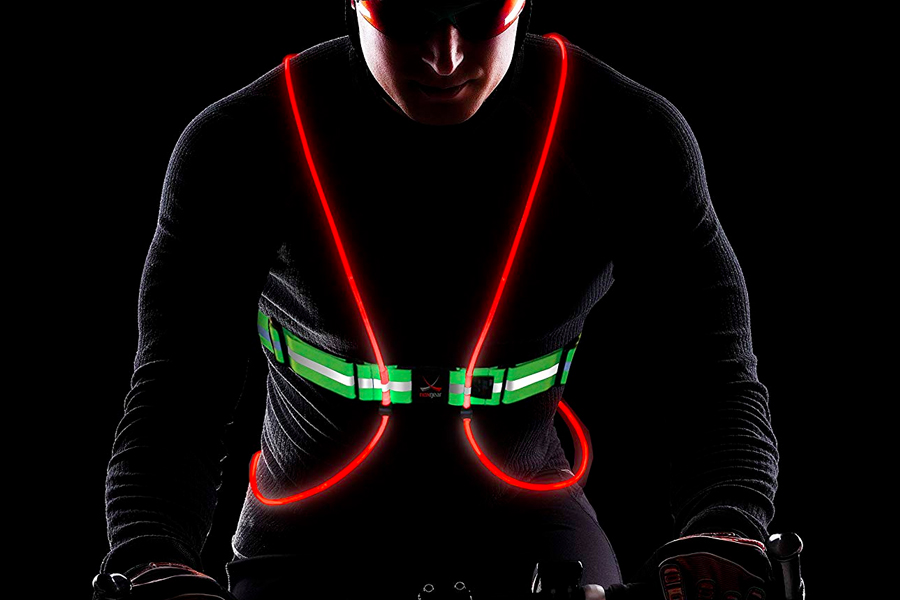 Tracer360 Illuminated and Reflective Vest for Running