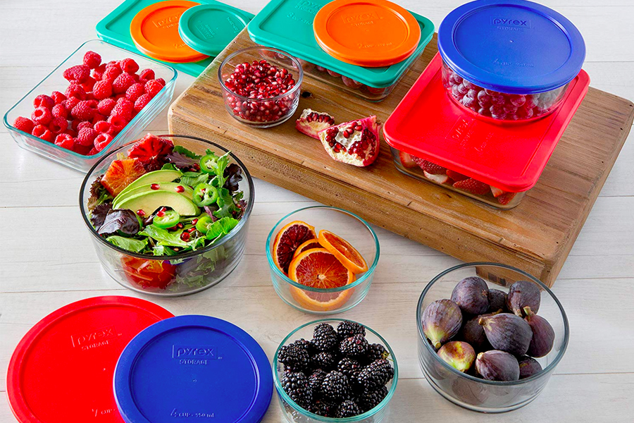 Pyrex Simple Store meal Prep Containers