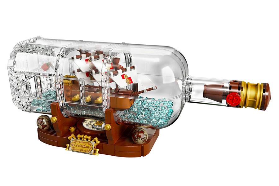 Lego Ideas Ship in bottle
