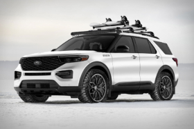 2020 FORD X BLOOD TYPE RACING EXPLORER SUV