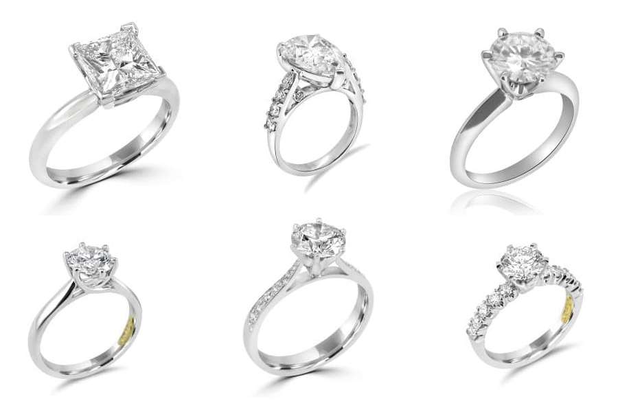 Anania engagement rings