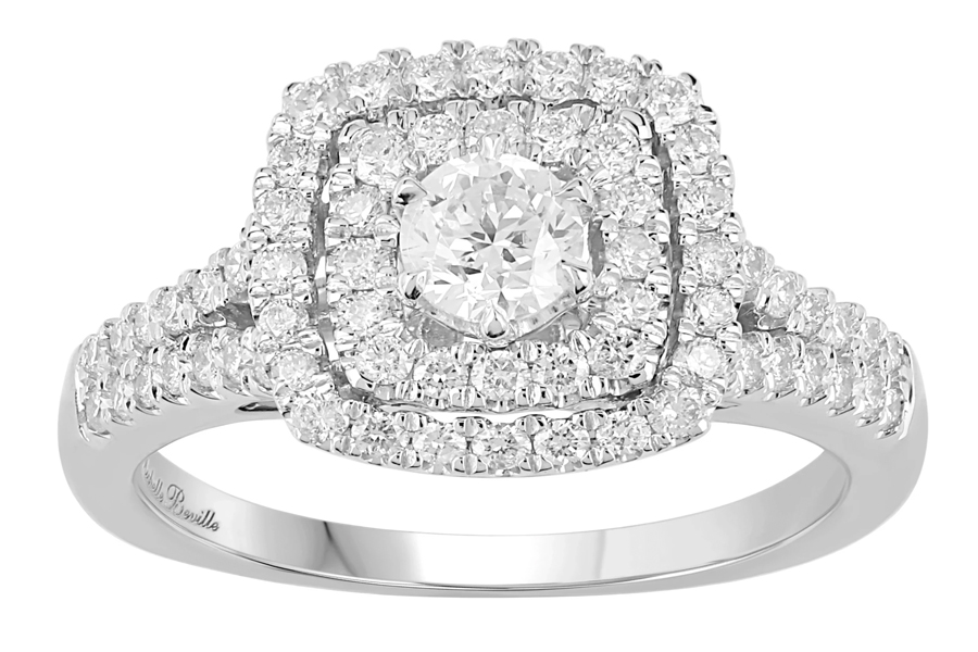 Beville engagement ring