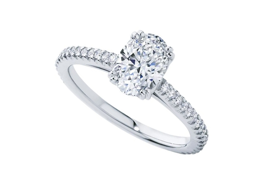 Larsen Jewellery engagement ring