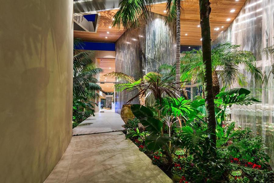 $65 Million Malibu Home walkway