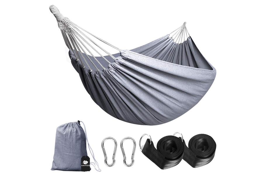 Anyoo Single Cotton Outdoor Hammock