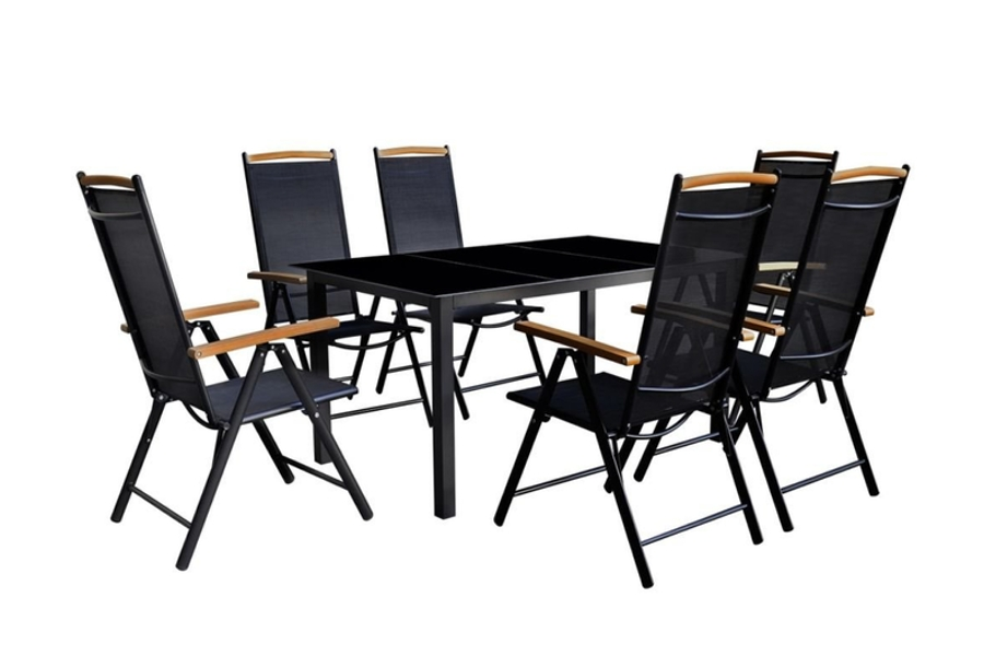 Tidyard 7 Piece Outdoor Dining Set