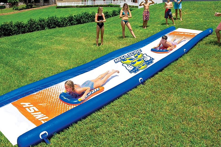 Wow World of Watersports Giant Backyard Waterslide